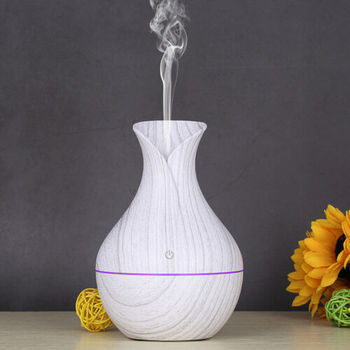 цена на LED Electric Air Diffuser Aroma Aromatherapy Essential Oil Humidifier Night Light Up Home Relax Defuser