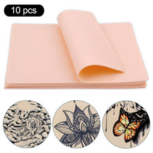 5/10pcs Tattoo Practice Skin Eyebrow Paint Mixer Permanent Makeup Accessories Double Faux Synthetic Leather Tattoo Anesthesia