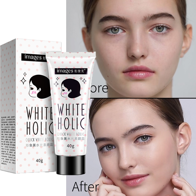 Quick White Cream Long Lasting Moisturizer Whitening Skin Oil Control Cover Pores Acne Nude MakeUp Base Lazy Korean Bb Cream