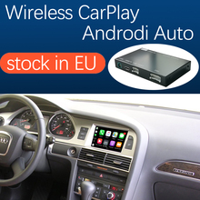 무선 애플 CarPlay 안 드 로이드 자동 인터페이스 아우디 A6 A7 2010 2011, AirPlay 미러 링크 자동차 재생 기능