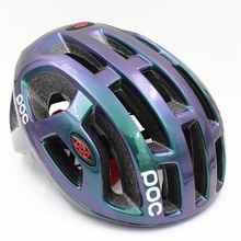 POC Raceday Road Helmet Cycling Eps Men's Women's Ultralight Mtb Mountain Bike Comfort Safety Cycle Bicycle  Size L :54-61