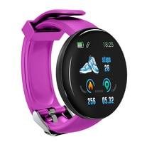 Tela colorida relógio inteligente freqüência cardíaca pressão arterial saúde faixa de fitness esporte pulseira unisex tt @ 88 4