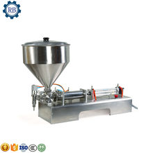 Hot Popular 10-300ml Semi-Automatic pneumatic liquid /paste cosmetic/food filling machine,essential oil filling machine(China)