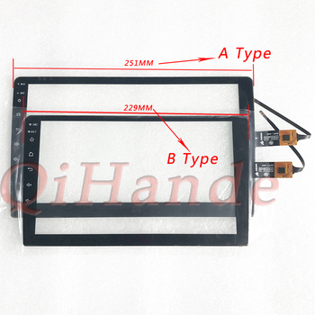 2.5D for TEYES CC2 For kia rio 3 4 tablet touch screen digitizer glass sensor GPS Car Radio Multimedia Video Player Navigation image