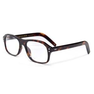 Image 5 - Óculos de kingsman, óculos de grau dourado com círculo secreto, estilo britânico de acetato