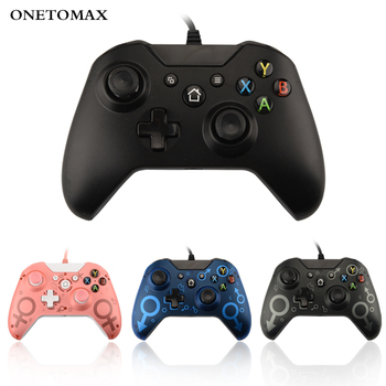 USB Wired Controller For Microsoft Xbox One Gamepad Slim Controle PC Windows Mando one Joystick