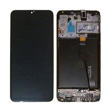 A105 ekran lcd do Samsung Galaxy A10 LCD dotykowy Digitizer czujnik szklany montaż do Samsung A10 wyświetlacz A105 A105F A105FD LCD