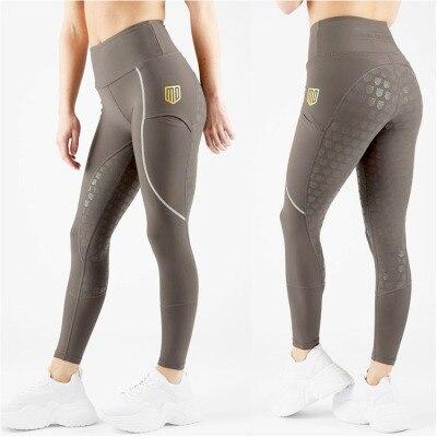 Женские штаны для верховой езды, бриджи для верховой езды, штаны для верховой езды, женские бриджи для верховой езды, Стрейчевые леггинсы для верховой езды, размер XXS-L - Цвет: Style 2-Brown