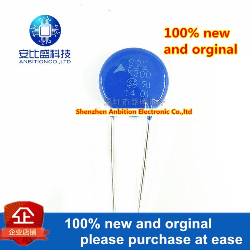 10pcs 100% New And Orginal B72220S2301K101 S20K300E2 S20K300 Varistor 300V Diameter 20MM In Stock