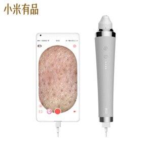 Визуальный Электрический прибор для удаления угрей, вакуумный отсос, пилинг, уход за кожей лица, синий свет, красота, машина от Xiaomi Youpin