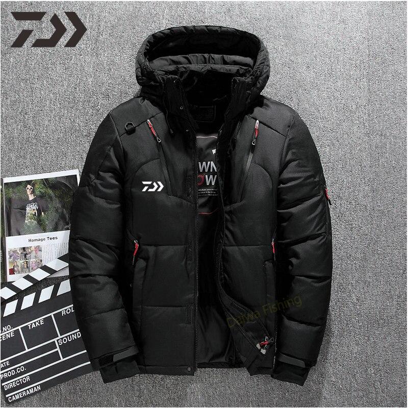 daiwa jaqueta de pesca inverno homem manter 02