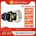 Globale Version Xiaomi Mi Uhr Lite GPS Fitness Tracker Heart Rate Monitor Sport Armband 1,4 Zoll Bluetooth 5,0 Smartwatch