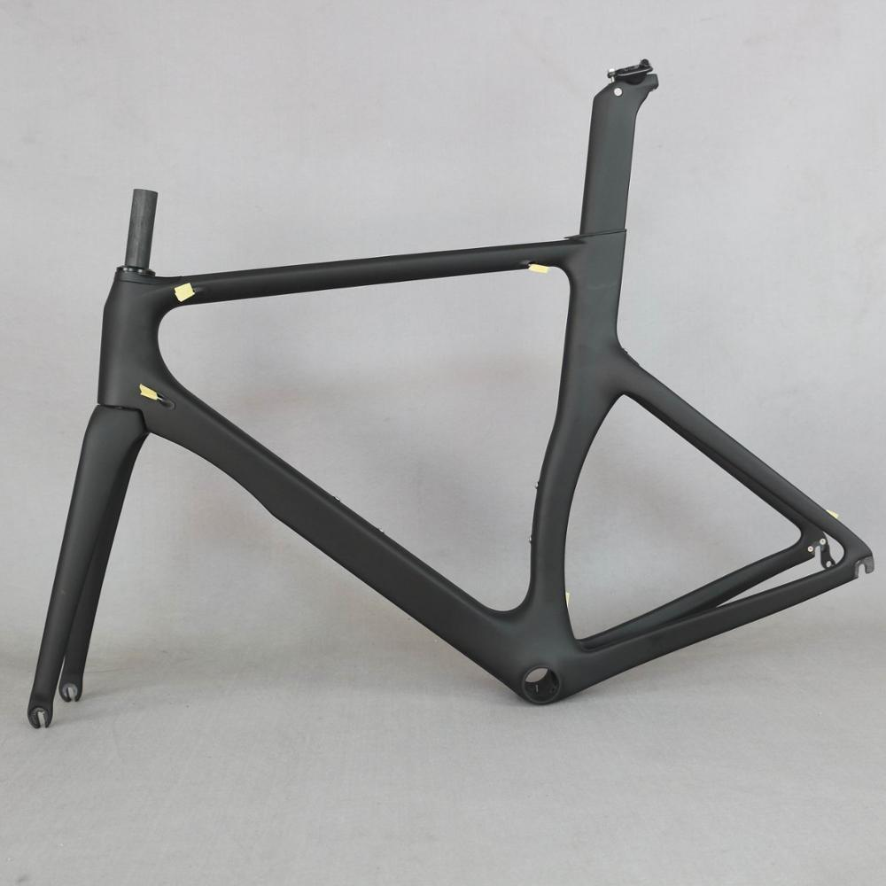 2019 New Aero Design Ultralight  Carbon Road Bike Frame Carbon Fibre Racing Bicycle Frame700c  Accept Painting