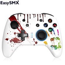 EasySMX-mando ESM-4108 con Bluetooth para Nintendo Switch, mando de PC con botones LED y vibración