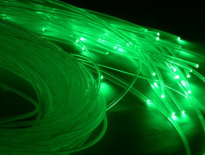Hot sales fiber optic roll end glow PMMA plastic fiber optic end glow cable for optic fiber lighting express free shipping 6