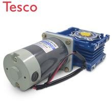 цена на 5D120GN-RV40 DC 12V/24V 120W 1800rpm DC gear motor worm gear gearbox high torque gear motor / output shaft diameter 18mm