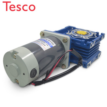 5D120GN-RV40 DC 12V/24V 120W 1800rpm DC gear motor worm gear gearbox high torque gear motor / output shaft diameter 18mm 545 motor diy model toy motor generator mute high torque dc 12v 24v