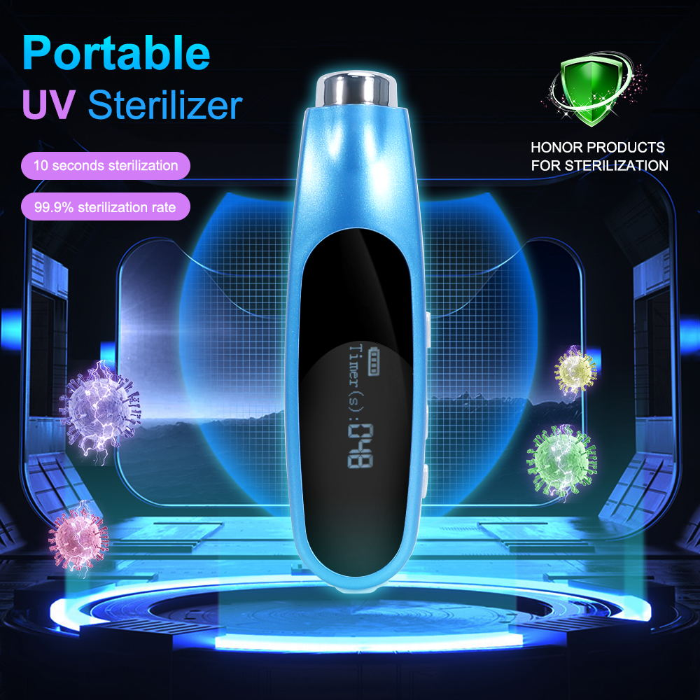 Portable Sterilizer With LED Display Air Purifier Portable Ozone Generator Multifunctional Sterilizer Air Purifier For Vegetable