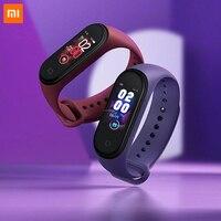 100% originale Xiaomi Band 4 Smart Bracelet colorato AMOLED Screen Band 4 Smartband Fitness Traker BT Sport Smart Band impermeabile