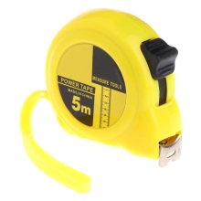 3m 5m Retractable Stainless Steel Tape Measure Ruler Measuring Metric Rule