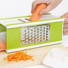 Vegetable Cutters Slicer Potato Peeler Carrot Grater Set 5in1 Kitchen Accessory Curve Design Conforming to Ergonomics