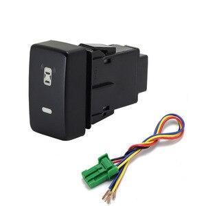 Image 2 - 1PC Recorder Monitor lautsprecher Radar Einparkhilfe Vorne Nebel Licht Scheinwerfer Schalter Taste Für Honda Fit 08 11