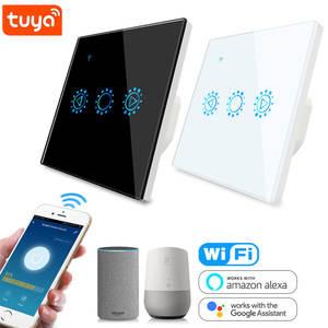 LED Dimmer Switch Smart-Light Tuya Wifi Alexa UK Compatible 110V 220V Google Home EU