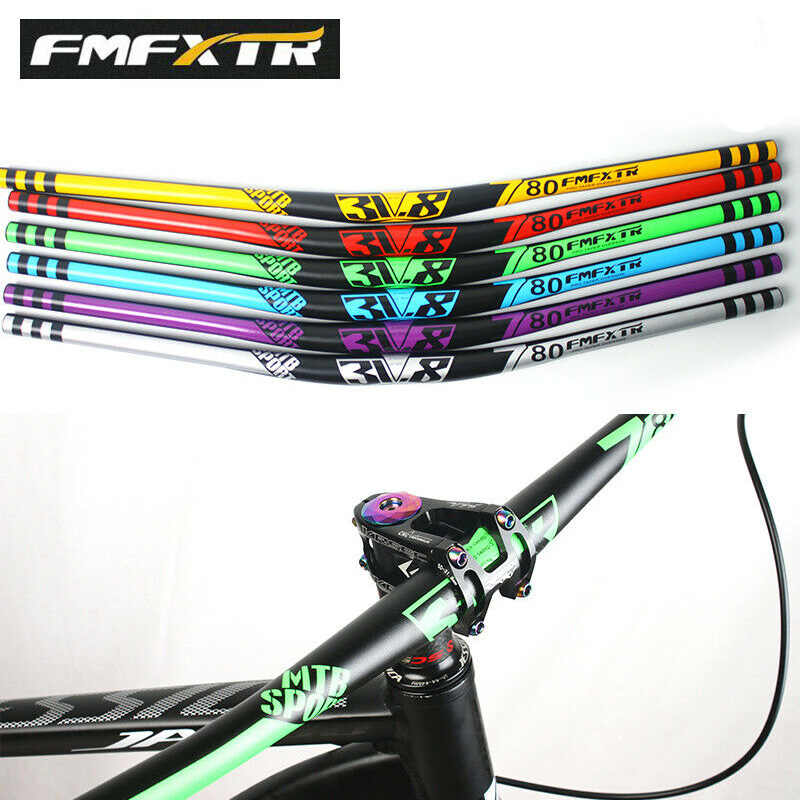 FMFXTR 780mm Riser Bar 31.8mm MTB Handlebar Aluminum Downhill Bicycle Superlight