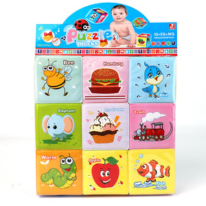 Image 5 - Baby Mobile Magic Cube Baby Toy Plush Block Clutch Rattles Early Newborn Baby Educational Toys 0 12 Months