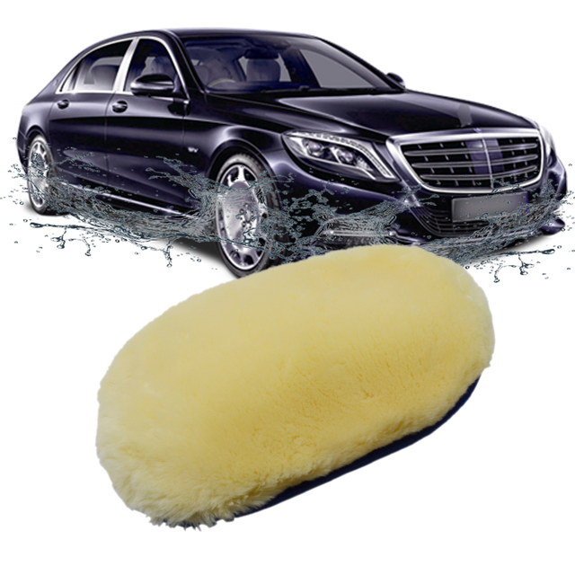 Car Styling Soft Wool Car Wash Cleaning Glove Car Motor Motorcycle Brush Washer Car Care Products Cleaning Tool Brushes 1