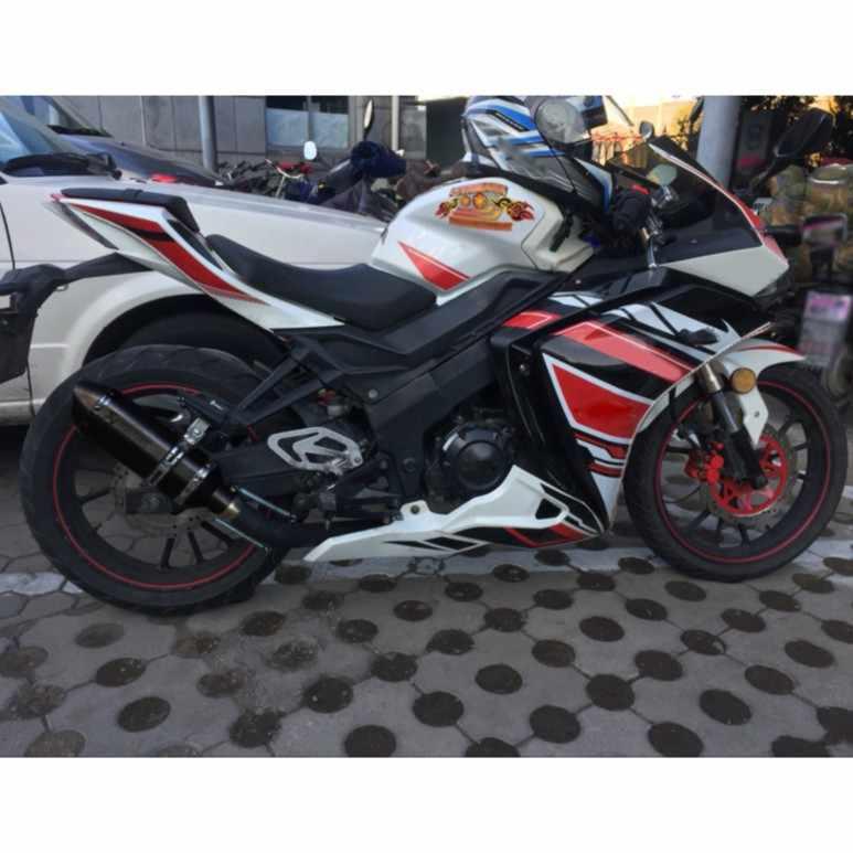 38-51mm uniwersalny motocykl Akrapoviccc wydechowy zmodyfikuj Motocross wydechowy tłumik ATV Dirt pitbike dla FZ6 CBR250 CB600 MT07 R1