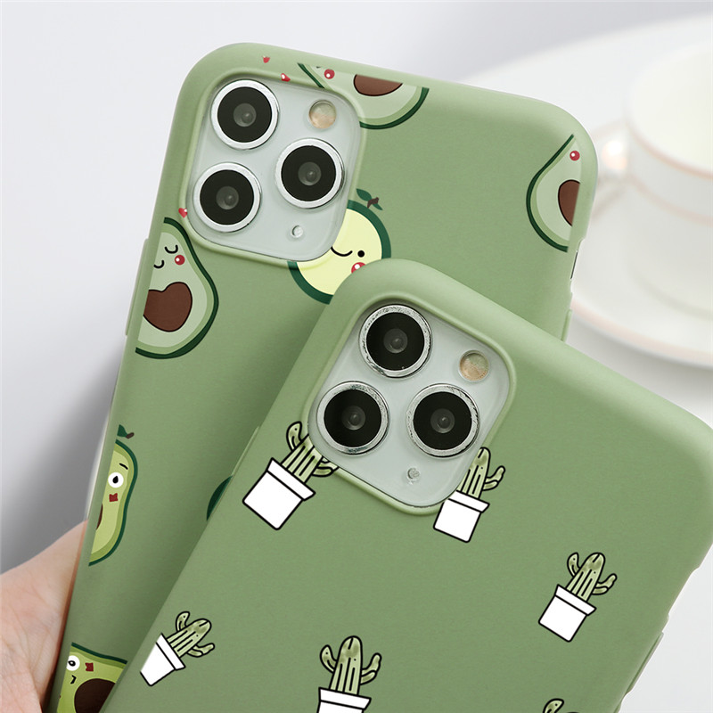 Cute Avocado Case 36