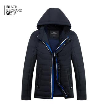 Blackleopardwolf 2019 new arrival spring jacket men thin cotton with a hood fashion style down jacket men for spring ZC-C562 1