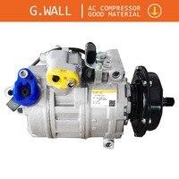 Compressor da c.a. para volkswagen transporter cilindrata 2.5tdi diesel 2003-2010 3d0820805b 3d0820805e f g q 7h0820805b 7h0820805c e