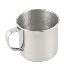 Made Of High Quality Stainless Steel Camping Mug Cup Outdoor Drinking Coffee Tea Handle Cup HOT SALE(China)
