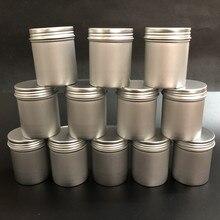 3 размера и 4 комплекта Алюминиевый чехол для хранения специй кофе для конфет и чая набор банок для хранения круглые металлические банки для бальзама баночки для специй