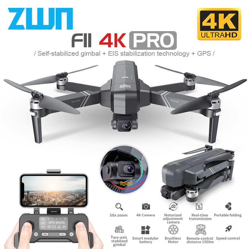 2020 NEW F11 PRO Professional 4K HD Camera Gimbal Dron Brushless Aerial Photography WIFI FPV GPS Foldable RC Quadcopter Drones|RC Helicopters| - AliExpress