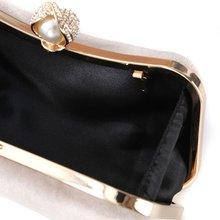 Стильная женская сумочка вечерний клатч для невесты сумка кошелек