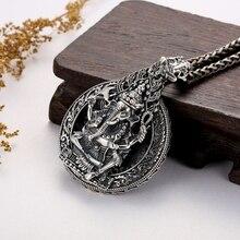 Тайский серебряный кулон большой идол тайский серебряный кулон подвесной кулон мужские женские серебряные ожерелье, ювелирные аксессуары 925 серебро