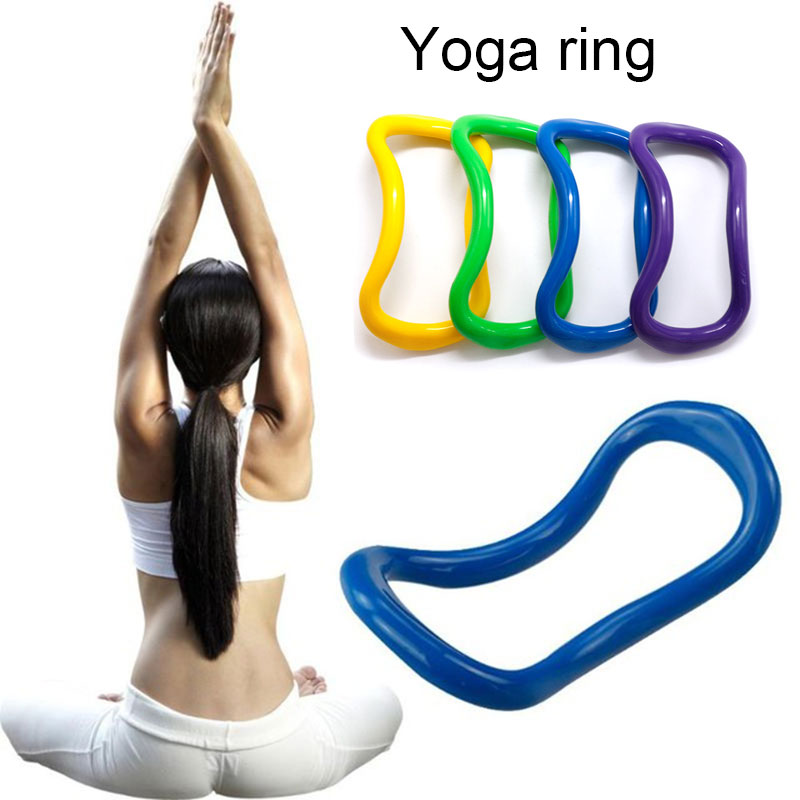 Durable Fitness Circle Pilates Ring ABS 5 Color Yoga Ring Magic Leg Arm Relaxation Sports Sport Tool Equipment Gym