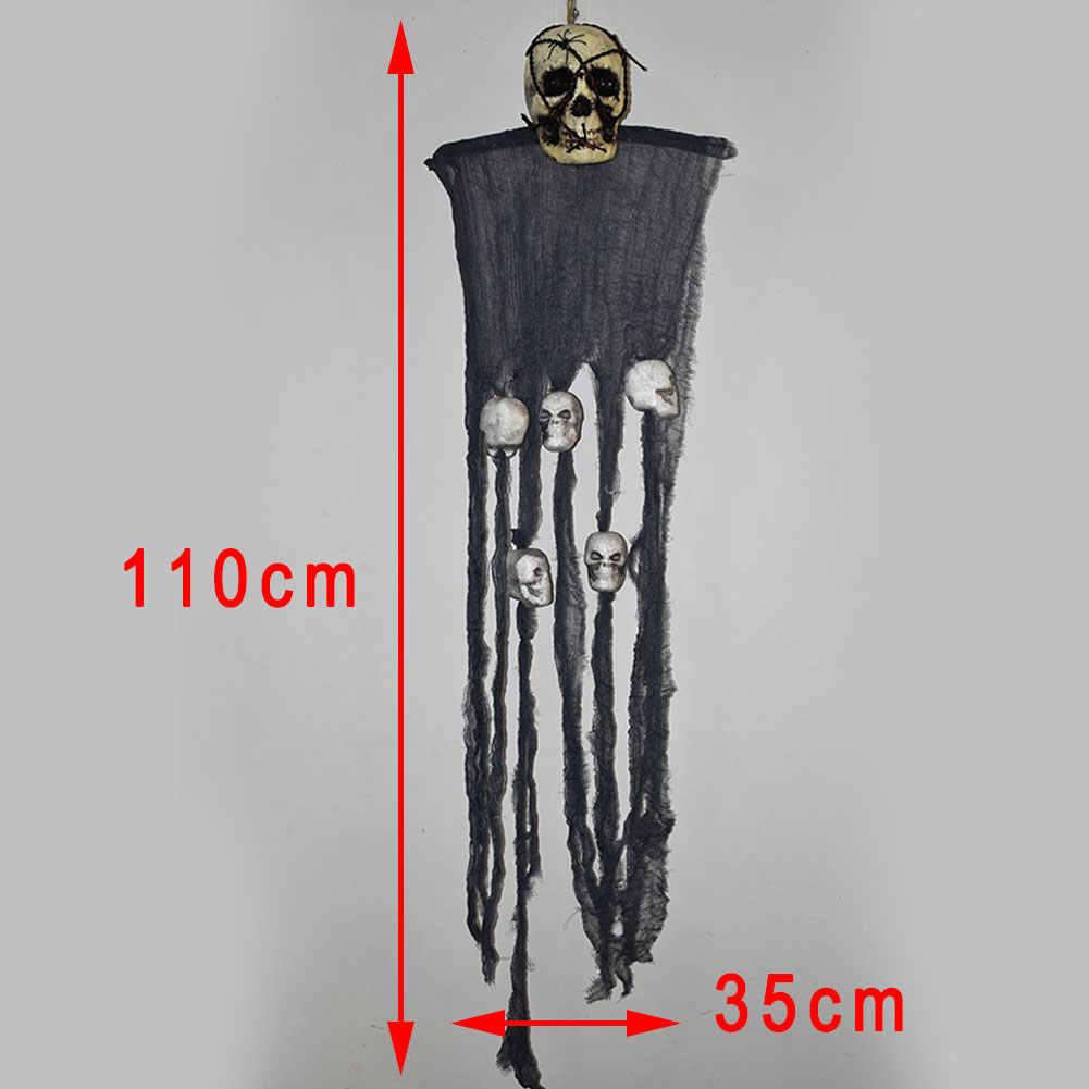 Хэллоуин ужас декоративные Висячие призрак дом бар KTV Череп Кулон Хэллоуин Вечеринка DIY украшения Подвески