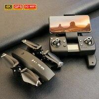 Quadricottero ABS 5G con fotocamera 4K Drone GPS professionale fotografia aerea prevenzione delle perdite elicottero telecomandato seguimi