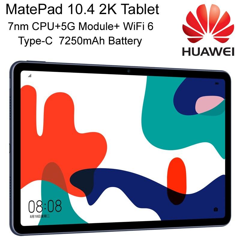 Miglior HUAWEI MatePad Tablet PC da 10.4 pollici processore 7nm multi-schermo collaborativo 4 Spearkers Slot modulo 5G WiFi 6 tipo-c