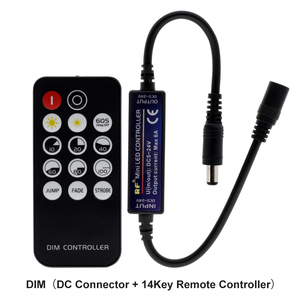 Image 2 - New LED RF Controller with 14/17/28 Keys Remote Control for Single Color / Double White / RGB / RGBW / RGB+CCT LED Strip Lights