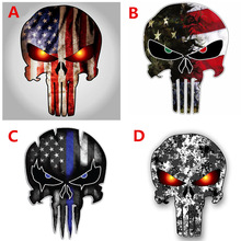 2 piece 10cmX15cm cool skull car sticker reflective fashion creative vinyl decal car shape sticker car moto universal decoration cool wing style reflective car sticker yellow