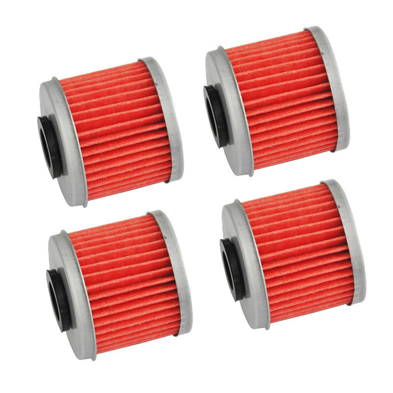 4 Pcs Motorcycle Oil Filter For TRX450 CRF150R CRF250R CRF250X CRF250 CRF450R CRF450RX CRF450X CRF450XRL <font><b>CRF150RB</b></font> image