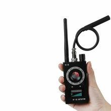 1MHZ-6.5GHZ K18 Multifunctional Anti-Spy Detector Camera GSM Audio Error Finder GPS Signal Lens RF Wireless Tracker Detection
