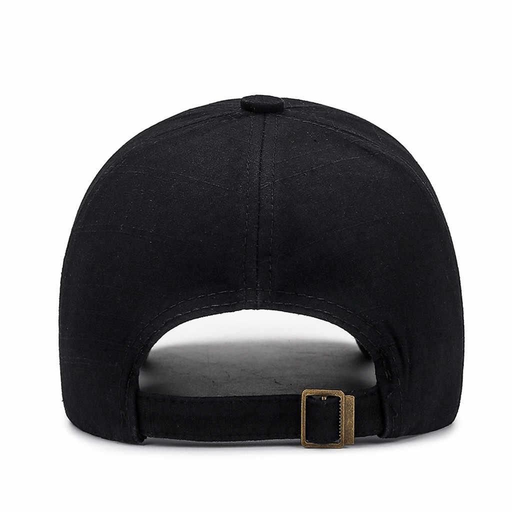 2019 модные однотонные новые осенние кепки Брендовые мужские бейсболки женские повседневные регулируемые хип хоп уличная походные бейсболки