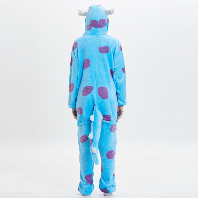 Monster-Inc-Sullivan-Onesies-For-Adults-monstruos-university-Kigurumi-Animal-Pajamas-Flannel-Warm-Long-Sleeve-Hooded (5)