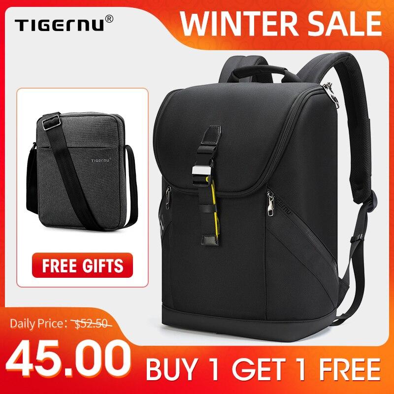 Tigernu 2020 Waterproof Men Backpack High Quality 15.6 inch Laptop Backpack Kroean Fashion Backpack Teenager Bag Male Mochilas|Backpacks| - AliExpress
